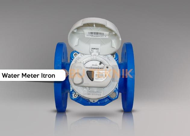 jual water meter itron ukuran 2.5 inch