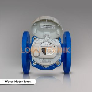 jual water meter itron dn80