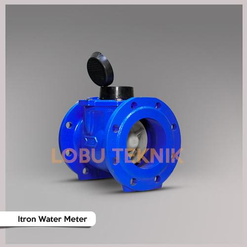jual water meter itron dn150 ukuran 6 inch