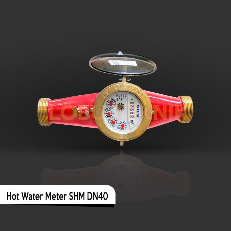 Hot Water Meter SHM Size 1.5 Inch
