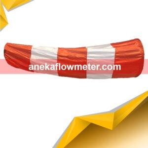 Jual Windsock orange putih 50
